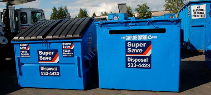 Garbage Bin Rentals Waste Management Super Save Group