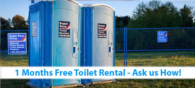 Toilet Rentals | Portable Toilet Rentals | Super Save