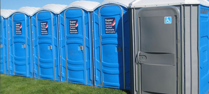 Toilet Rentals | Portable Toilet Rentals | Super Save